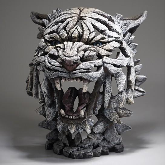 Edge Sculpture Tiger Bust - Siberian