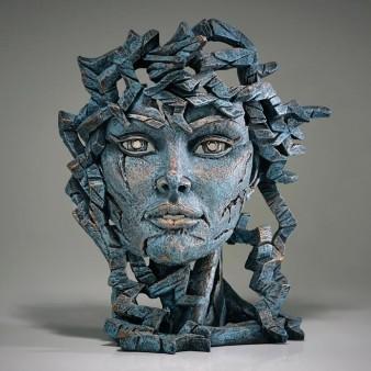 Edge Sculpture Venus Bust - Teal