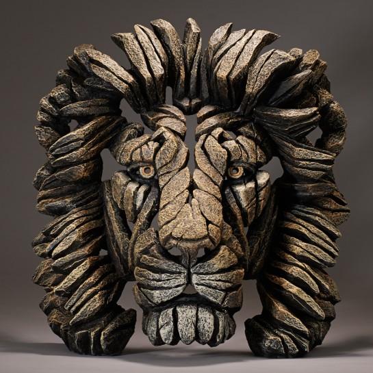 Edge Sculpture Lion Bust