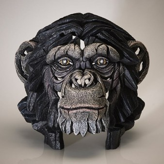 Edge Sculpture Chimpanzee Bust