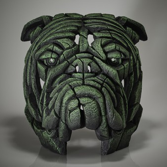 Edge Sculpture Bulldog Bust - Bowling Green - Limited Edition 50