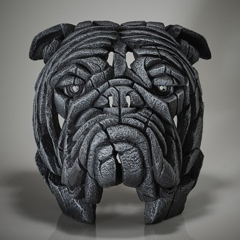 Edge Sculpture Bulldog Bust - Earl Grey - Limited Edition 50