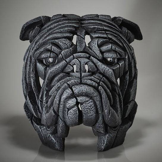 Edge Sculpture Bulldog Bust - Earl Grey - Limited Edition 50