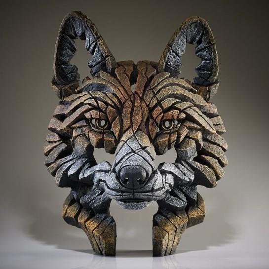 Edge Sculpture Fox Bust