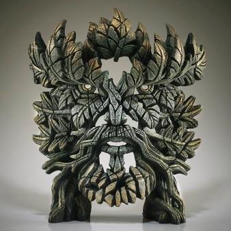 Edge Sculpture Green Man Bust