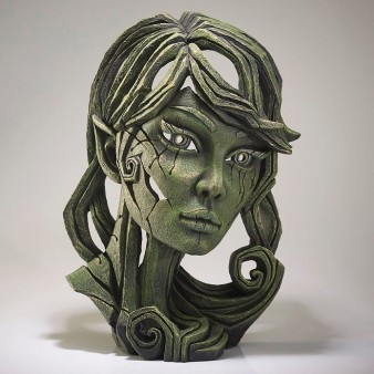 Edge Sculpture Elf Bust - Leaf