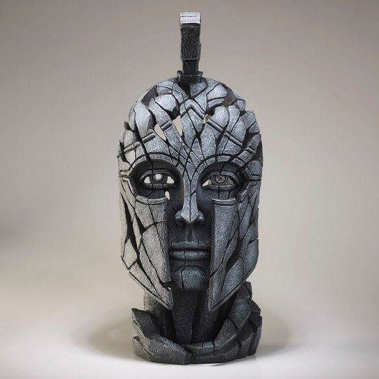 Edge Sculpture Spartan Bust - Slate
