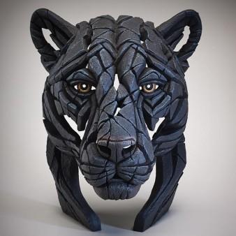 Edge Sculpture Panther Bust