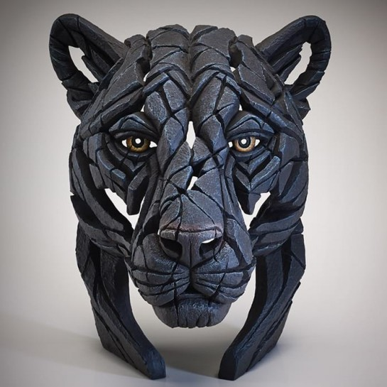 Edge Sculpture Panther Bust