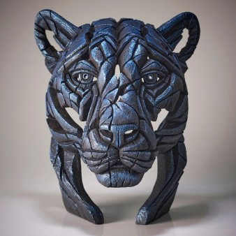 Panther Bust 'Night Shadow' – Blue – Limited Edition 100