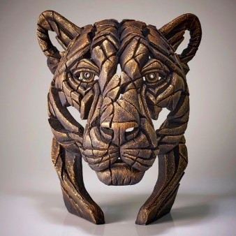 Panther Bust 'Temple Gold' - Gold - Limited Edition 100