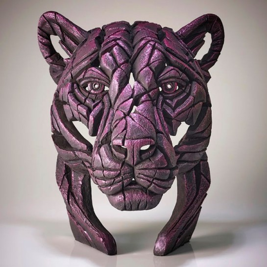 Panther Bust 'Rinky Dink'- Pink - Limited Edition 100