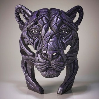 Panther Bust 'Moon Hunter' - Purple - Limited Edition 100