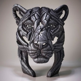 Panther Bust 'Silent Silver' - Silver - Limited Edition 100