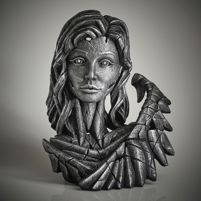 Edge Sculpture Angel Bust (Silver Spirit)