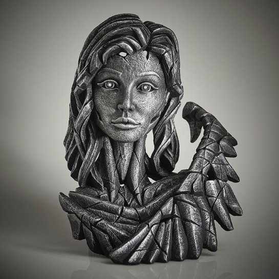 Edge Sculpture Angel Bust (Silver Spirit)