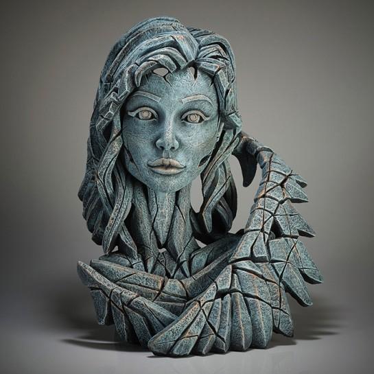 Edge Sculpture Angel Bust (Teal)