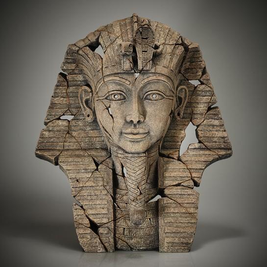 Edge Sculpture Tutankhamun Bust (Sands of Time)