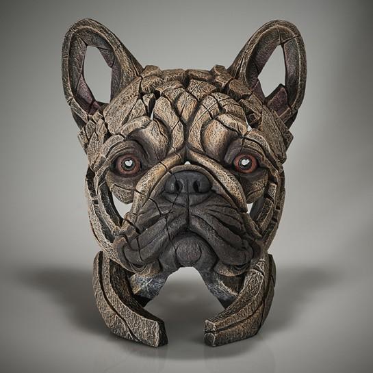 Edge Sculpture French Bulldog Bust (Fawn)