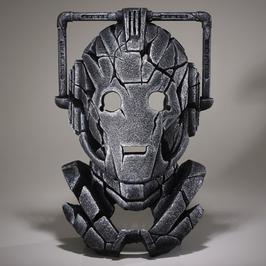 Edge Sculpture Cyberman Bust