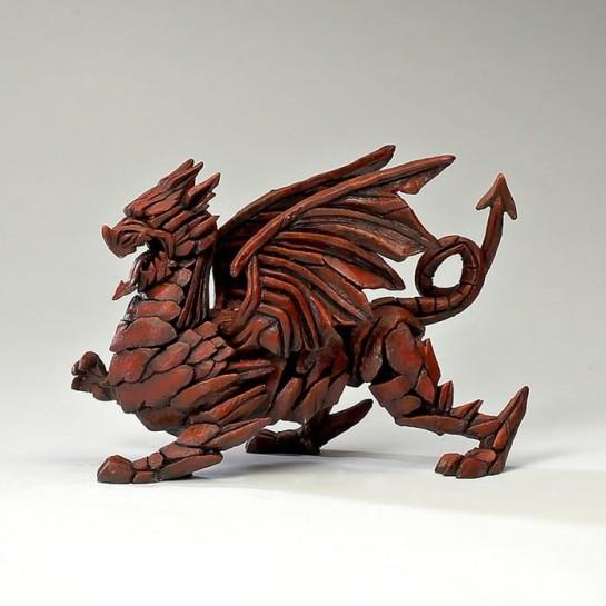 Edge Sculpture Dragon - Red