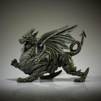 Edge Sculpture Dragon - Green