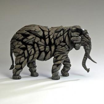 Edge Sculpture Elephant - Mocha