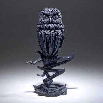 Edge Sculpture Owl - Midnight