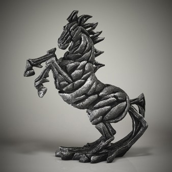 Edge Sculpture Horse - Hi-Ho Silver Limited Edition 50