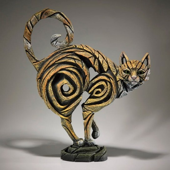 Edge Sculpture Standing Cat - Ginger