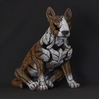 Edge Sculpture Bull Terrier - Brindle