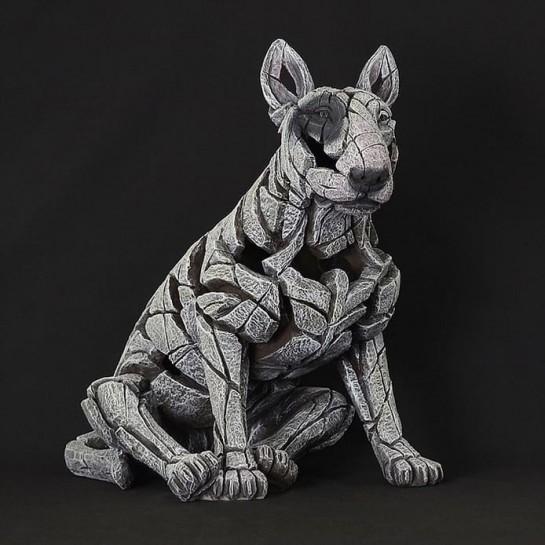 Edge Sculpture Bull Terrier - Bullseye