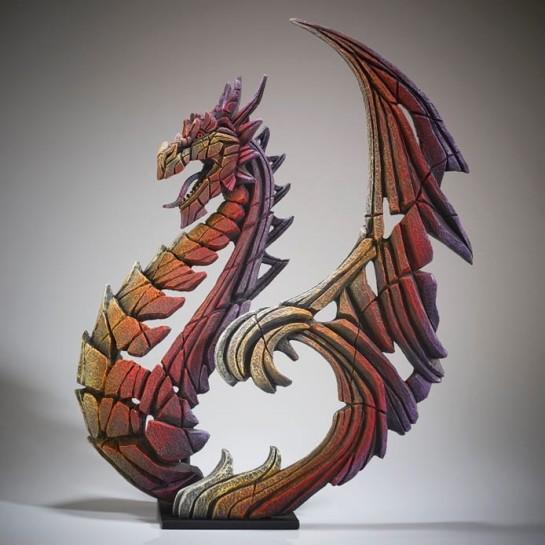 Edge Sculpture Heraldic Dragon - Brimstone