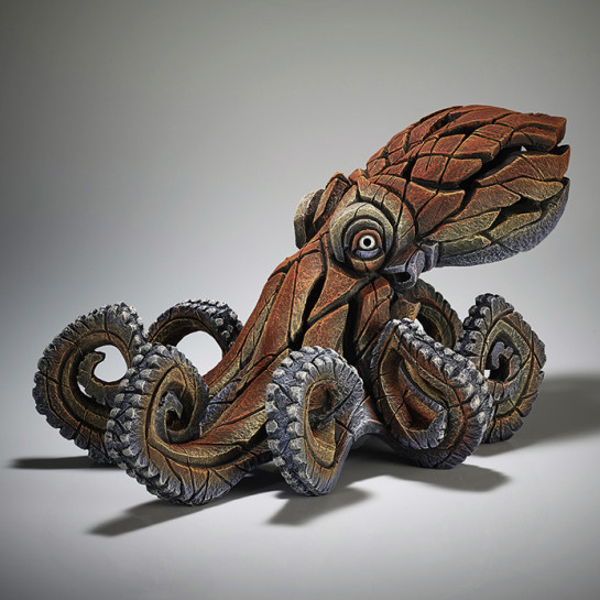 Edge Sculpture Octopus Figure