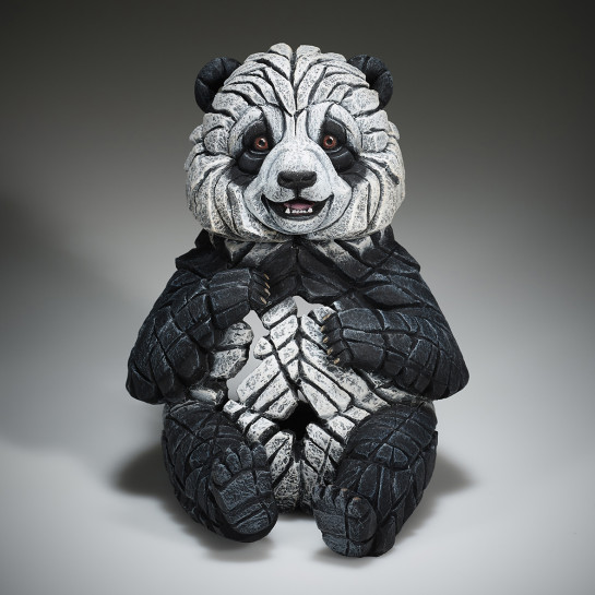 Edge Sculpture Panda Cub Figure