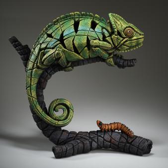 Edge Sculpture Chameleon (Green) Figure