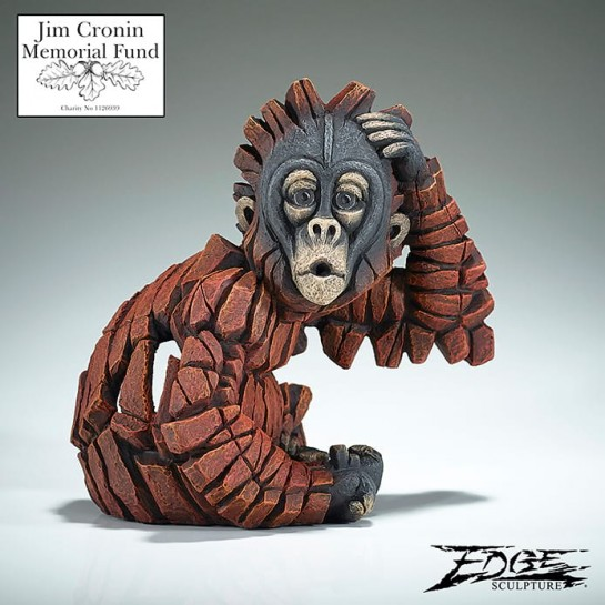 Edge Sculpture Orangutan 'Baby Oh!' – Numbered Edition