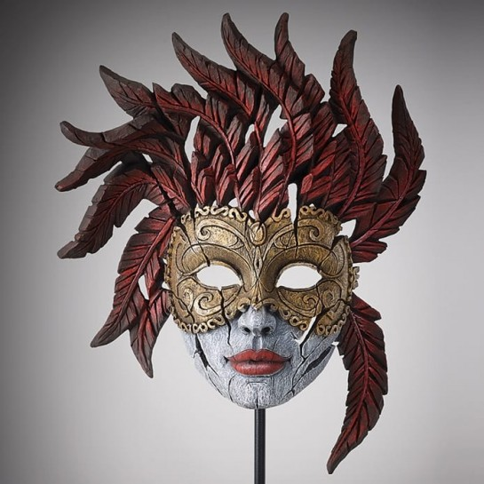 Edge Sculpture Venetian Carnival Mask - Masquerade